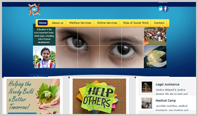 NGO Website Designing