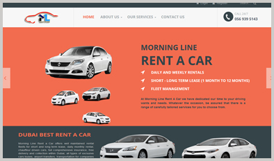 Car Rental Company Dubai